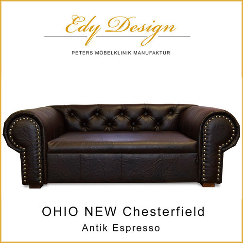 OHIO NEW Chesterfield Antik Espresso
