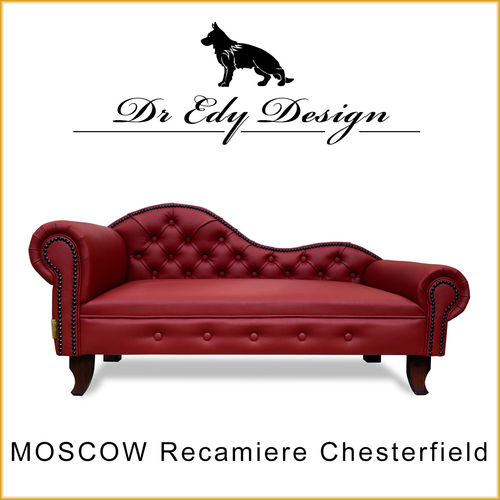 MOSCOW Chesterfield Recamiere  Eco-Leder