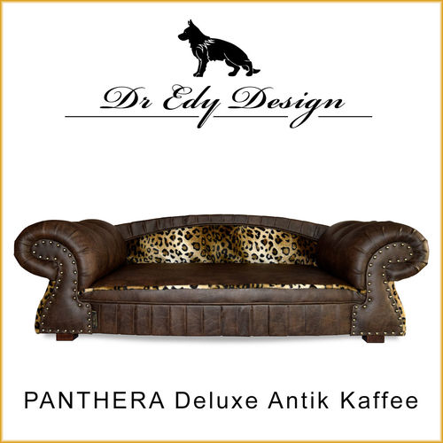 Dog Bed PANTHERA Antik Kaffee
